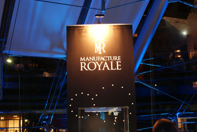 Manufacture Royal stand in Monaco