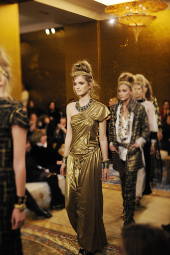 Paris-Bysance Show: Défilé Chanel By Karl Lagerfeld